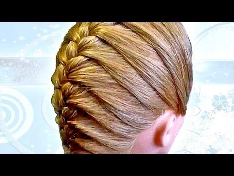 Плетение косы своими руками видео