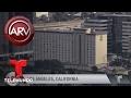 Encuentran explosivos en hotel de Los Ángeles | Al Rojo Vivo | Telemundo