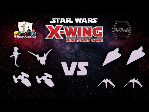 X-Wing 2nd Edition - Tabletop Simulator [06/04/19]