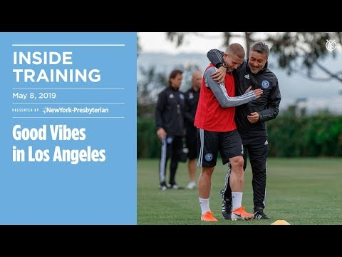 Good Vibes in LA | INSIDE TRAINING