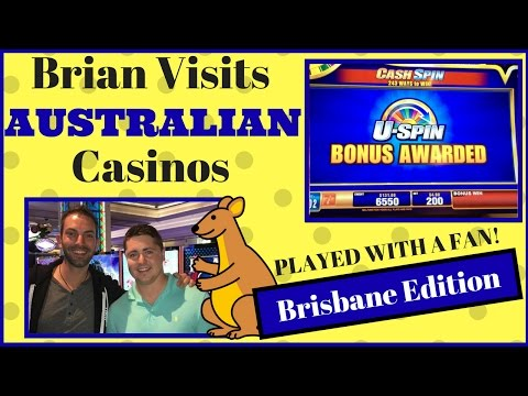 Brian visits AUSTRALIAN Casino ✦ FAN PLAY in BRISBANE Edition ✦ Slot Machine Pokies at The Treasury