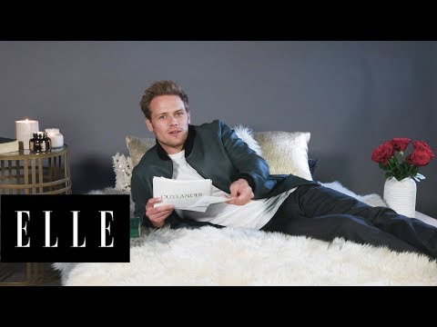 Outlander's Sam Heughan Reads His Thirstiest Tweets  ThirstTweets  ELLE