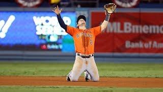 THE HOUSTON ASTROS WIN THE 2017 MLB WORLD SERIES
