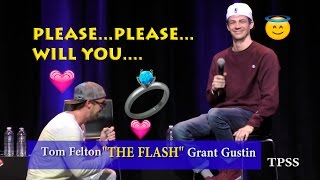 Tom Felton to Grant Gustin...'please...please...will you....! Part 2