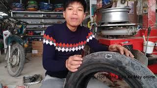 Cách sử lý vá lốp không săm bị rách to nhanh nhất