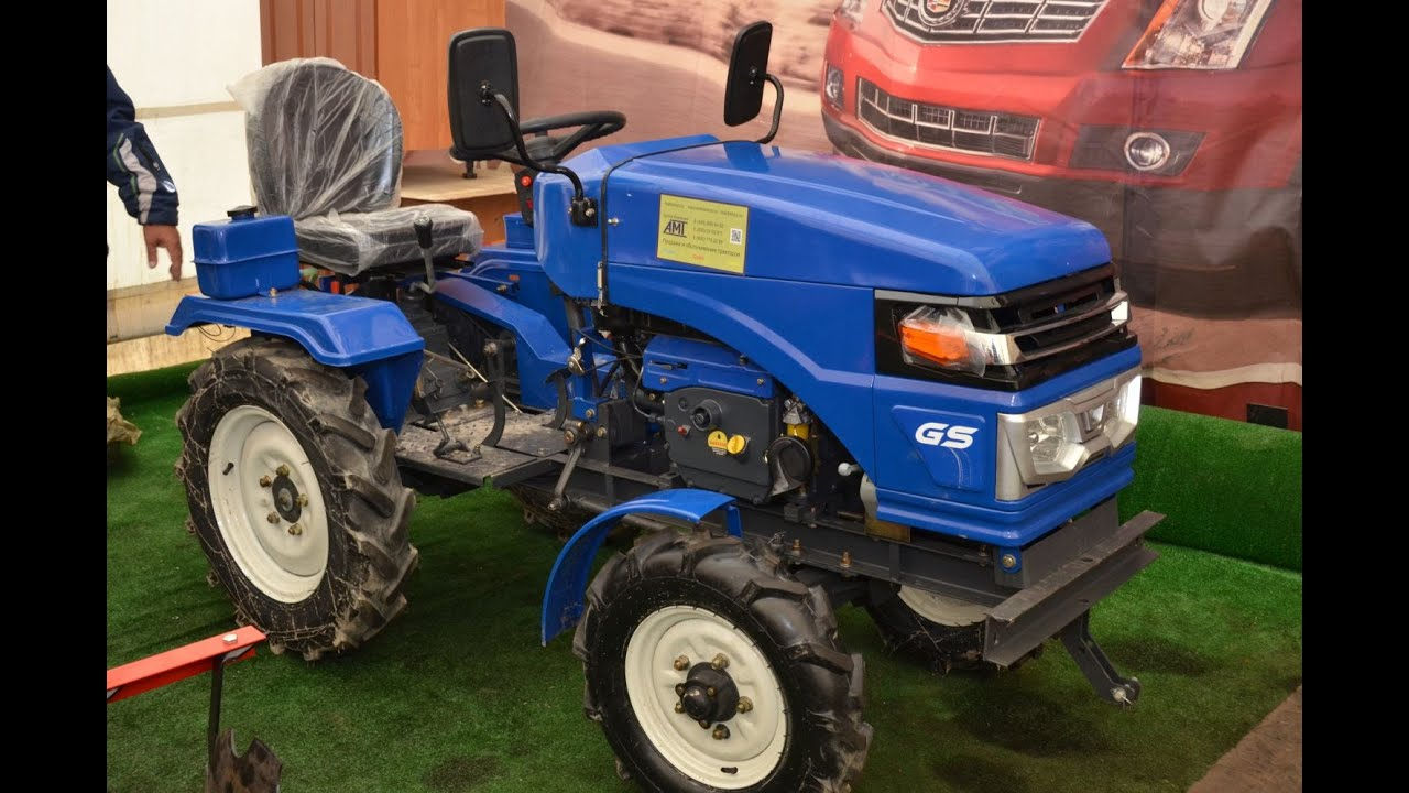 GrassHopper Мини трактор продажа 89166016501 в Москве - YouTube