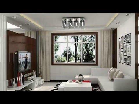Long Narrow living room- Interior Design ideas