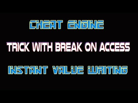 Game Hacking:  Break On Access - Instant Value Writing