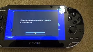 How to FIX PS4 Remote Play on the PS Vita if it has Stopped Working