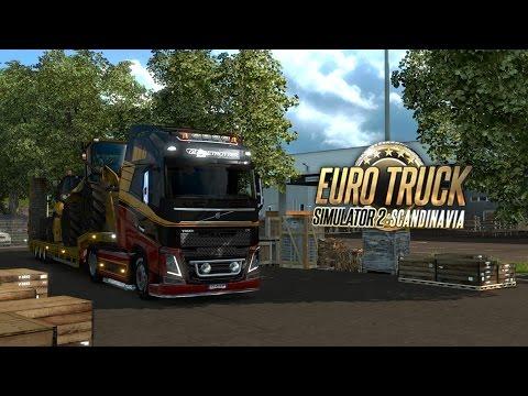 Euro Truck Simulator 2: Road trip across Scandinavia