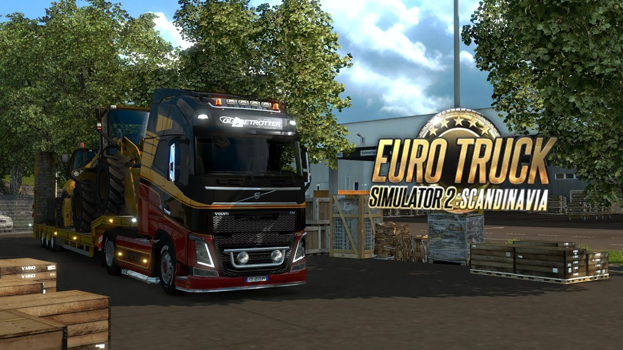 euro truck simulator 2 road trip across scandinavia youtube. Black Bedroom Furniture Sets. Home Design Ideas