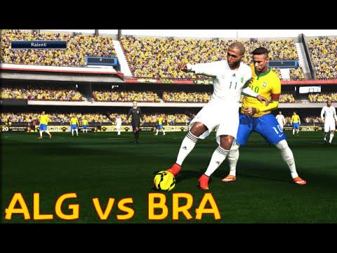 [HD] Algérie vs Brésil PES 2016 Algerian Player 1080p60 Difficulté Superstar PC