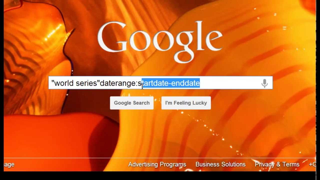 How to do Date Range Searches in Google | Video 15