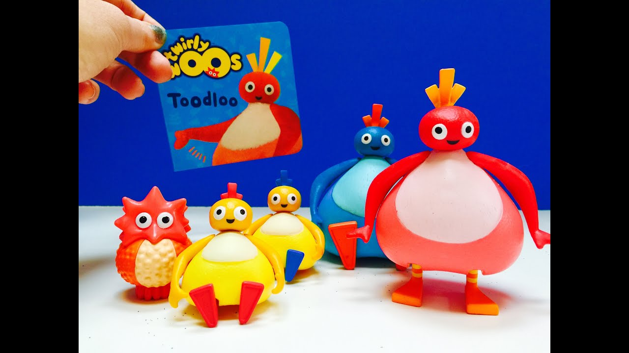Toys And Treasures : Twirlywoos toys read a long toodloo mini book youtube
