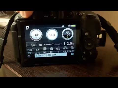 How to update firmware and lens data on Nikon DSLR  Nikon D5300/ D5500