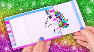 DIY Unicorn Art || Rainbow Art Ideas And Hacks For Kids