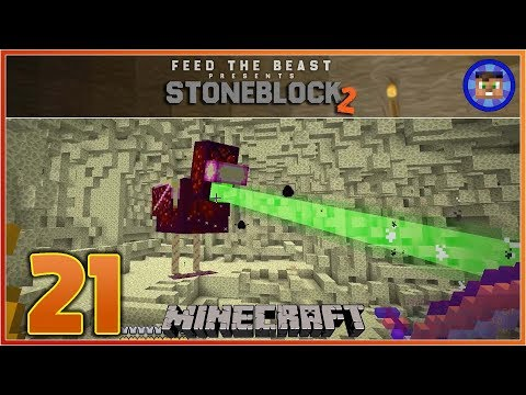 StoneBlock 2 Modpack Ep 21 - CHAOS CHICKEN BATTLE! - Modded