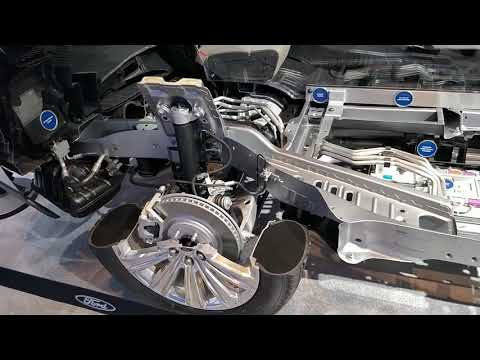 2020 Ford Explorer Hybrid Cross Section details in Canadian Auto Show in Toronto