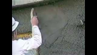 Видеоуроки по ремонту квартир.  Машинное нанесение смеси Кнауф Форшпритцер