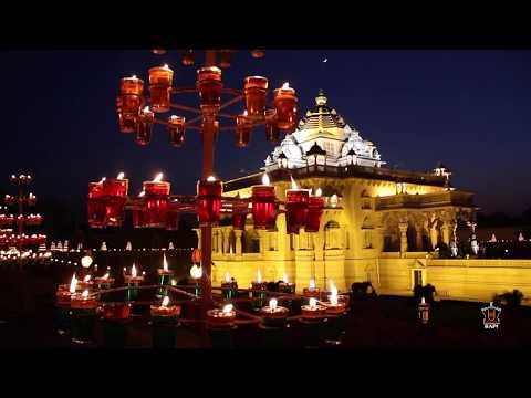 Swaminarayan Akshardham Gandhinagar - Festival of Light 2018