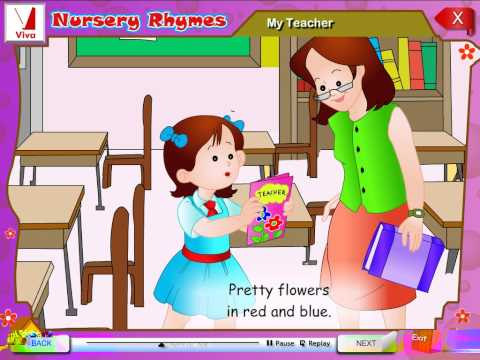 My Teacher - Nursery Rhymes