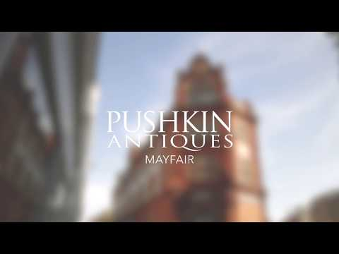 Pushkin Antiques Mayfair - Summer Ad 2018