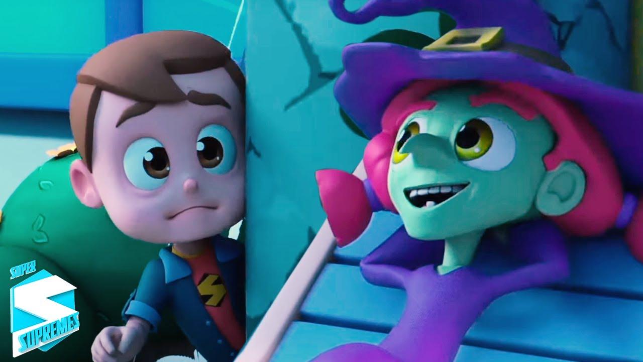 Ха ха ха это хэллоуин   хэллоуин мультфильмы   Super Supremes Russia   Песни Для Детей