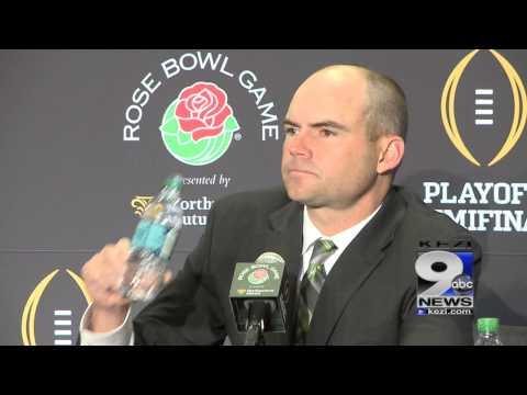 Mark Helfrich Wednesday Rose Bowl press conference (12/31/14)