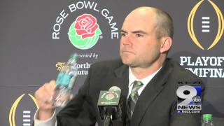 Mark Helfrich Wednesday Rose Bowl press conference (12/31/14)