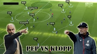 Difference between Guardiola amp Klopp39s Offensive 2-3-5 Formation  Half Spaces vs Wing Spaces