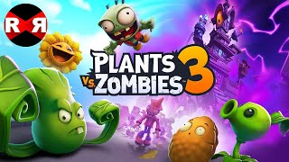 Plants vs Zombies 3 (by EA) - iOS / Android BETA GAMEPLAY