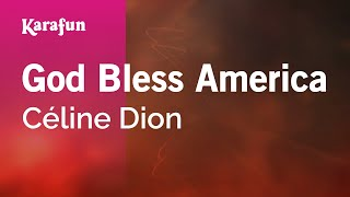 Karaoke God Bless America - Céline Dion *
