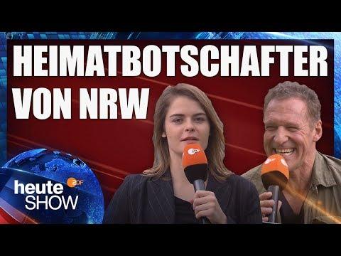 Hazel Brugger interviewt Ralf Moeller (Heimatbotschafter) | heute-show vom 25.05.2018
