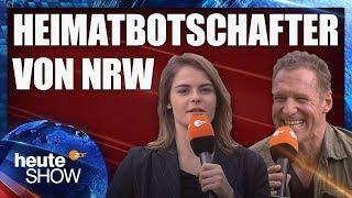 Hazel Brugger interviewt Heimatbotschafter Ralf Moeller