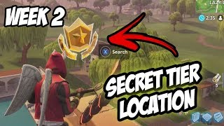 Season 5, Week 2 | *SECRET* Free Tier Location! - Fortnite Battle Royale