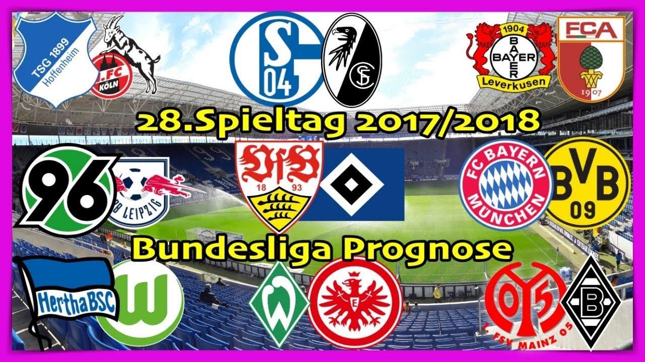 Fifa 18 Bundesliga Prognose 28spieltag 20172018 Alle Spiele Alle