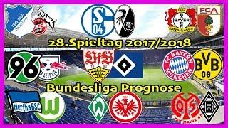FIFA 18 Bundesliga Prognose 28.Spieltag 2017/2018 Alle Spiele, alle Tore Deutsch (HD)