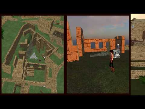 Machu Picchu en Second Life Proyecto USMP