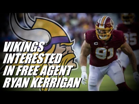 NFL RUMORS: Minnesota Vikings Interested in Free Agent DE Ryan Kerrigan