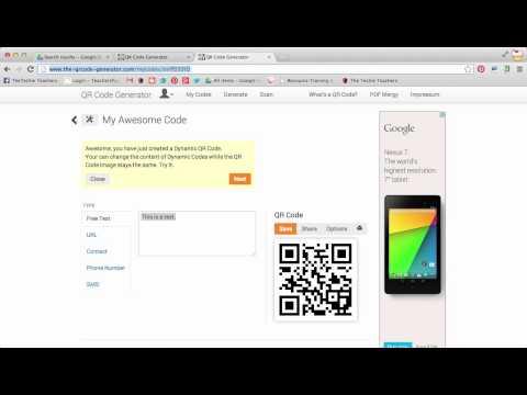Creating text QR codes