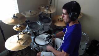 A Skyline's Severance by Trivium Drum Cover by Joeym71
