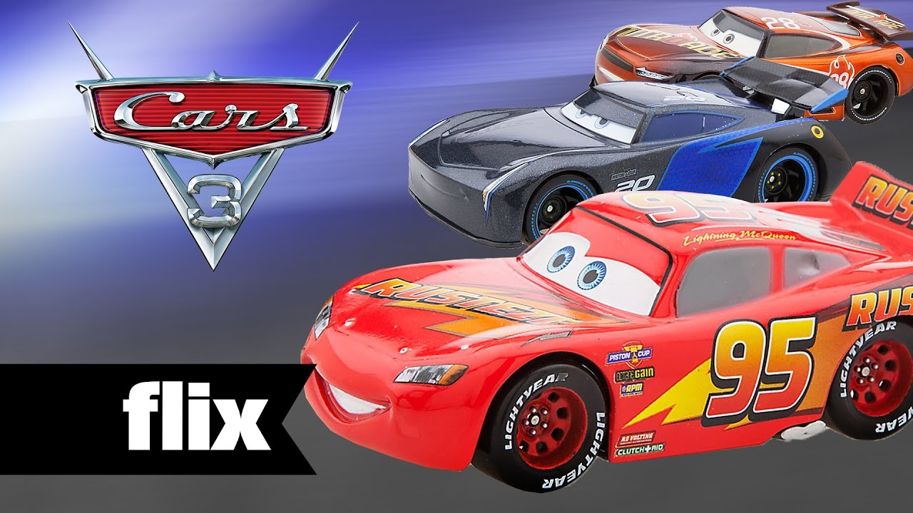 cars 3 toys characters unveiled 2017 youtube. Black Bedroom Furniture Sets. Home Design Ideas