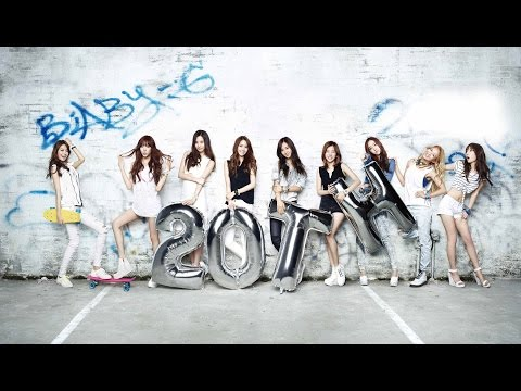 BEST SONGS OF GIRLS' GENERATION PART 1 [2007 - 2014]