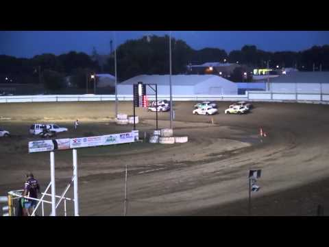 IMCA Hobby Stock heats Independence Motor Speedway 8/15/15