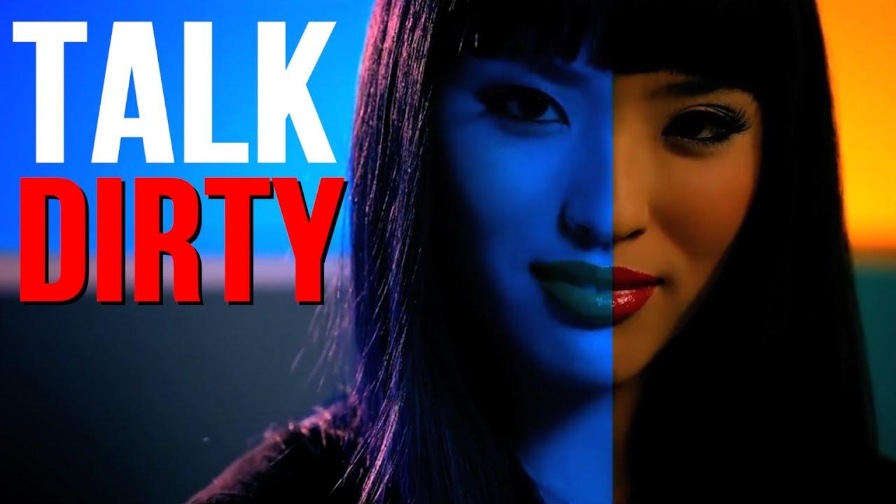 Asian girl talking dirty