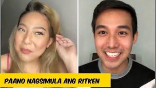 Rayver Cruz binuko ang RitKen, Rita Daniela may inamin sa loveteam with Ken Chan   All Out Sundays