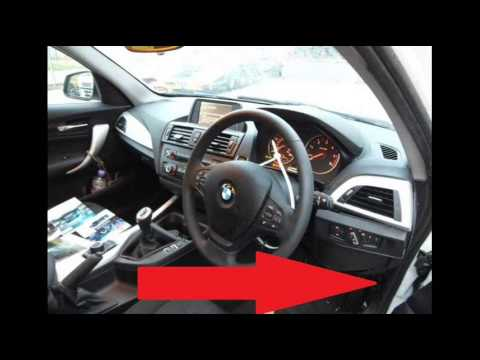 bmw f20 1 series diagnostic port location video youtube. Black Bedroom Furniture Sets. Home Design Ideas