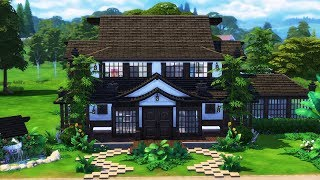 Traditional Japanese Home | 🎐🗻💮 | Sims 4 Speed Build | @PenappleYT 4/1/2018