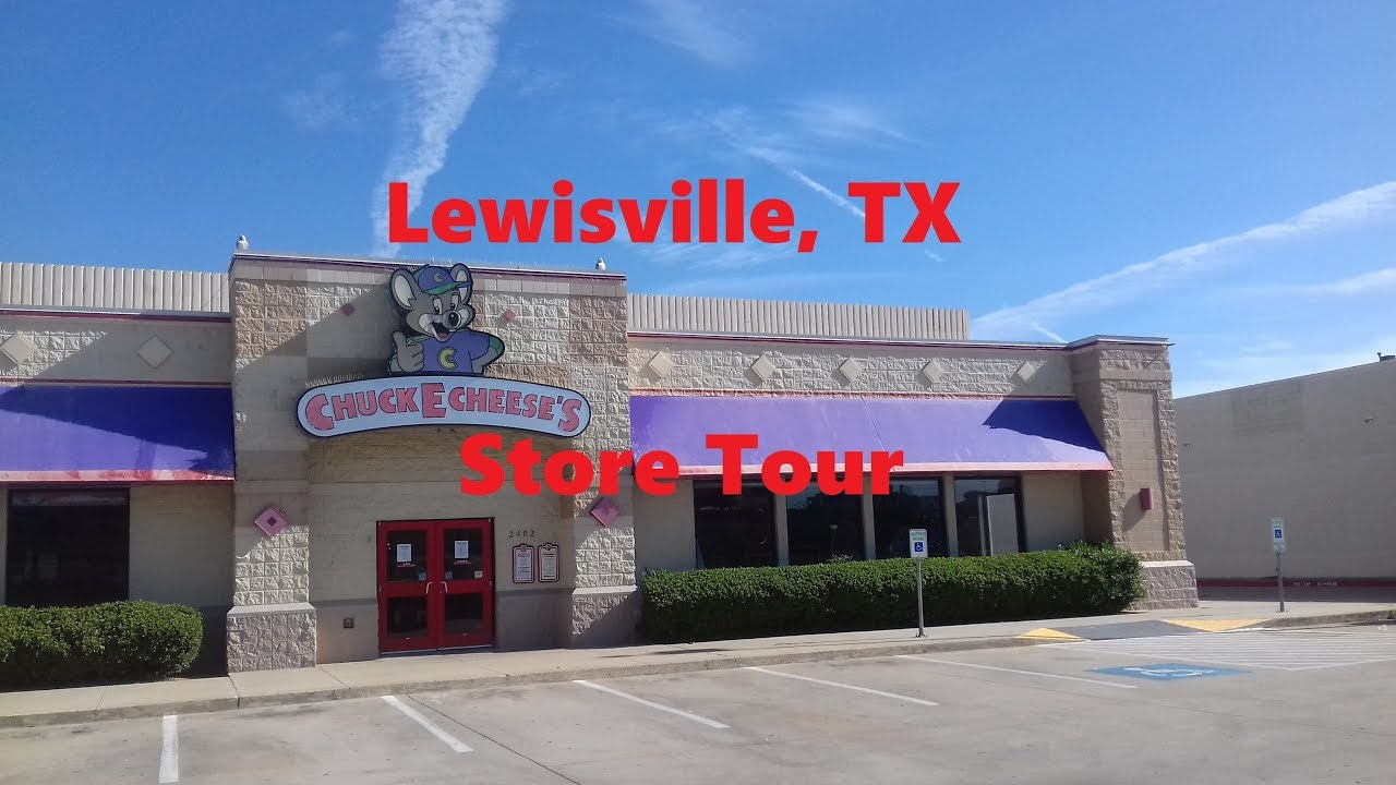 Chuck E Cheese Lewisville Store Tour  YouTube