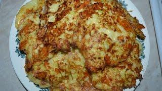 Видео-рецепт - Оладьи из кабачков с сыром - Готовим быстро, вкусно и легко